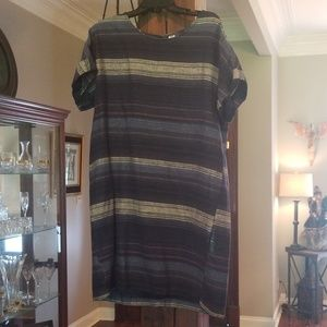 NWOT Linen Blend Old Navy Dress